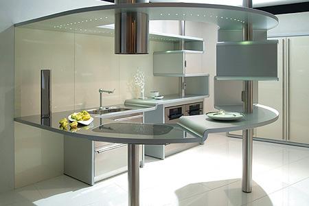 ... blog over Italiaanse Design Keukens e.d.: Ronde keukens van Snaidero