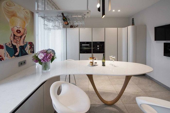Hoekkast Keuken Boven : over Italiaanse Design Keukens e.d.: Snaidero keuken in Zeist klaar